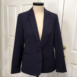 Tommy Hilfiger Prep Brocade Blazer Jacket, Sz 10/M